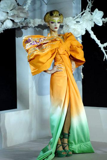 Orange_green_fade_dress